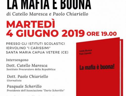 """Presentazione del libro """"LA MAFIA È BUONA"""" di Catello Maresca e Paolo Chiariello"""