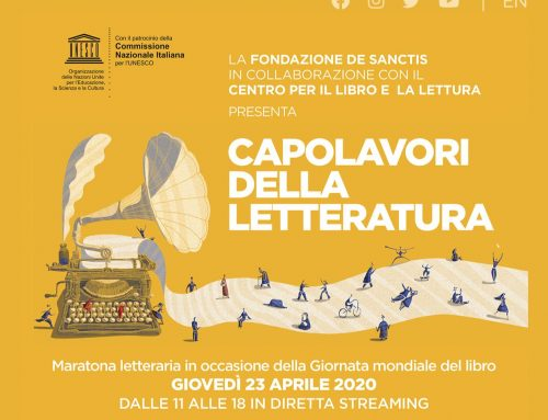Il sito del Miur ospiterà la maratona letteraria organizzata dalla Fondazione De Sanctis