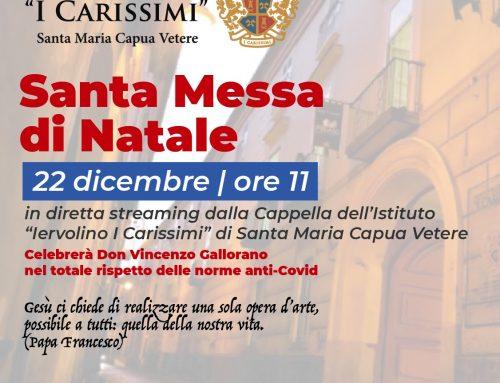 """Istituti Scolastici """"Iervolino I Carissimi"""" – Santa Messa di Natale 2020"""