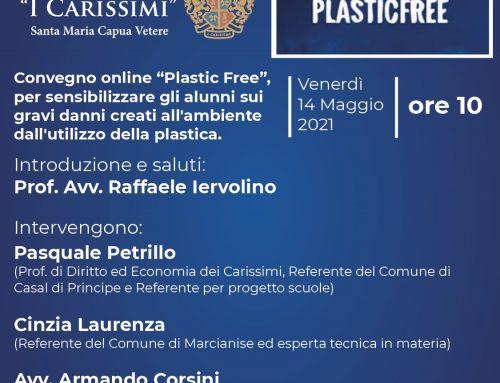 """Venerdì 14 Maggio 2021, ore 10 – Convegno online """"Plastic Free"""""""